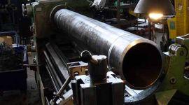 tornitura tubazioni, rifilatura tubi, riparazione tubazioni