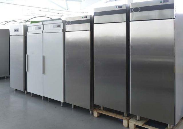 Row of Commercial Refrigerators for Repair, San Antonio TX