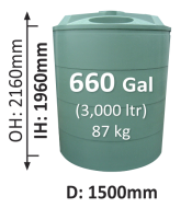 3000-Litre-Round-Poly-Water-Tank-QLD