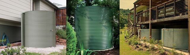 Aquaplate Steel Round Water Tanks - Brisbane, Gold Coast, Sunshine