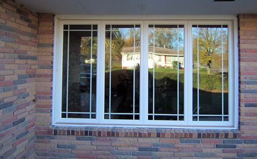 Contractor installed durable double window in Table Rock, NE