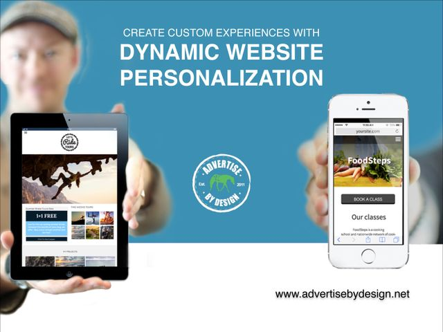 Create custom experiences with dynamic website personalization