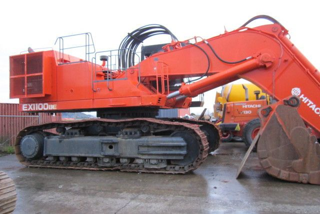Commercial machinery after repair