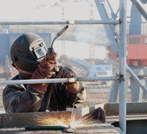 metal and steel welding