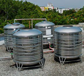 4 water tanks