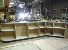 Local joiners - Leyland, Lancashire - JNT Joinery - Table shelfs