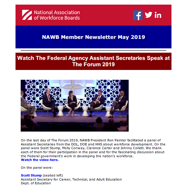 Member Services - National Association of Workforce Boards (NAWB)