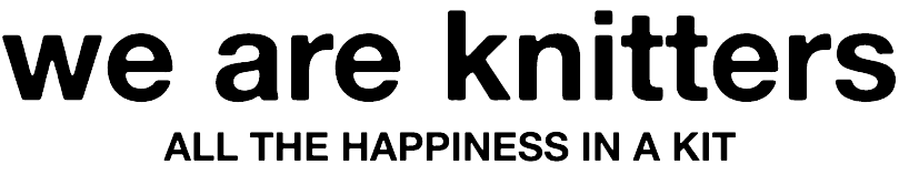 we are knitters - logo
