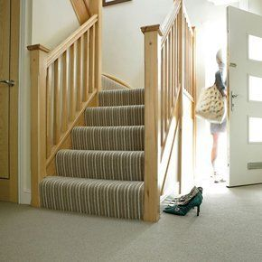 Carpets for stairs as well as rooms