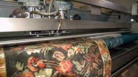 un tappeto in un macchinario