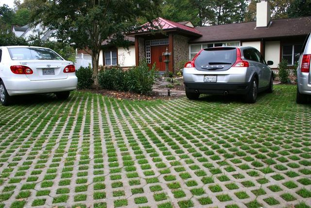 Impervious Concrete Driveways