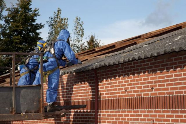 Removing asbestos from home or commercial property