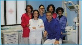 equipe medici, studio dentistico, odontoiatra