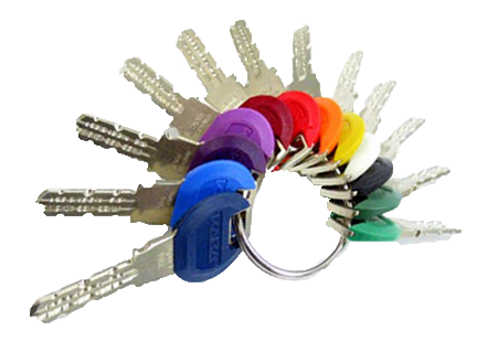 keyscolour