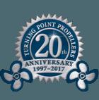 20 Year Anniversary logo