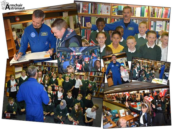 School Sponsorship - Meet Astronaut Chris Hadfield