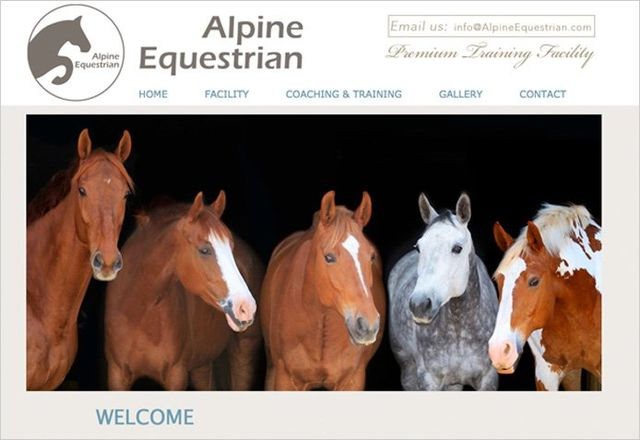 Alpine Equestrian