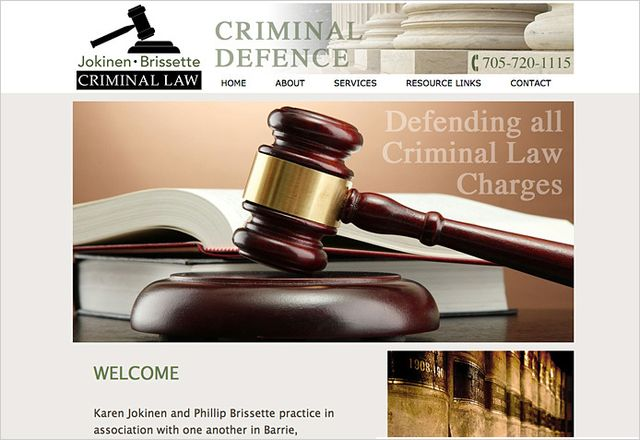 Jokinen - Brissette Criminal Law - Barrie