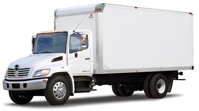 Straight Truck 5 Ton Trucking Delivery Expedite Cargo Freight