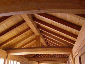 oak house beam