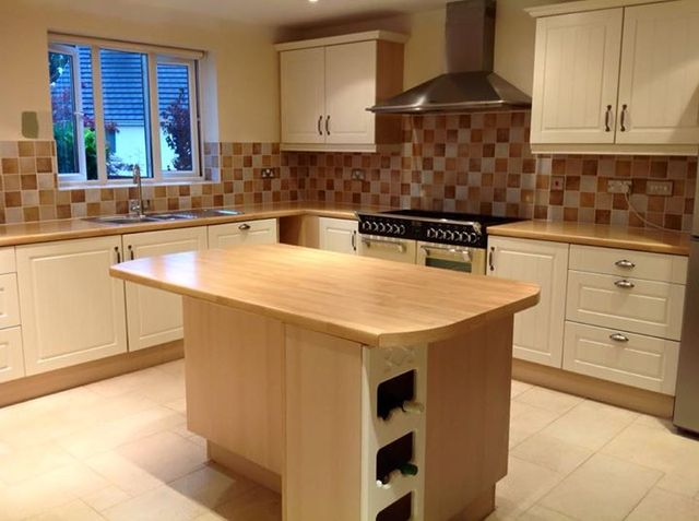 cleaned kitchen