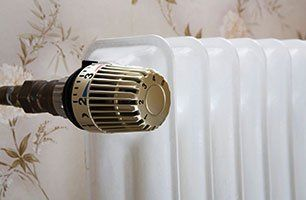 Central heating work