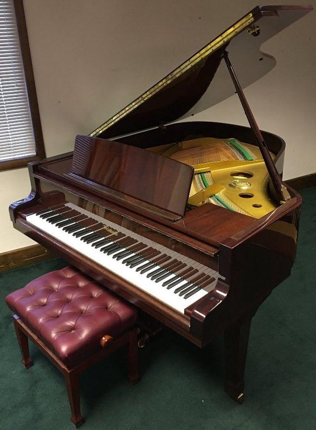 Weinbach Piano - Polished Mahogany