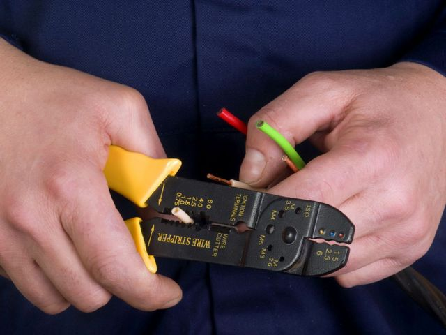 Expert completing electrical services in Christchurch