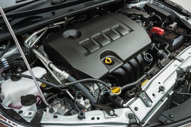 un motore di una macchina