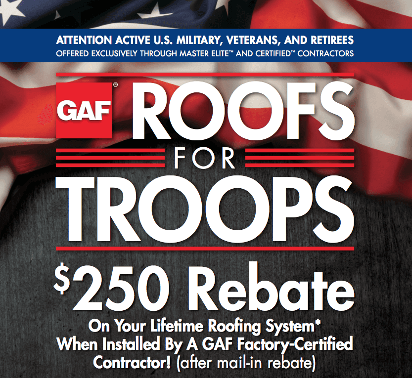 Military Discounts Austin Roofing and Construction