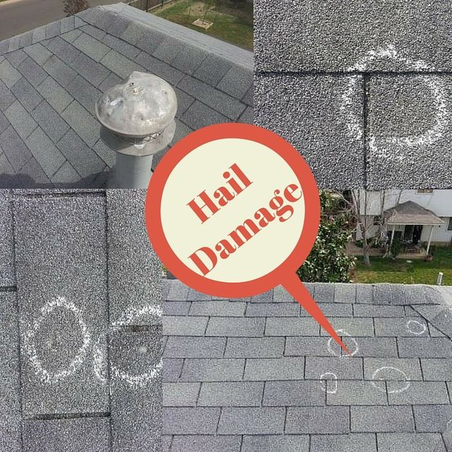 Hail Damaged Roof Austin Roofing and Construction