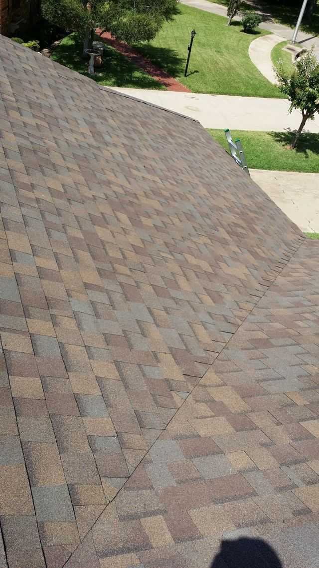 Shingle Re-Roof Austin Roofing and Construction