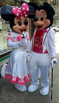 mascottes e costumi per feste a tema o in maschera