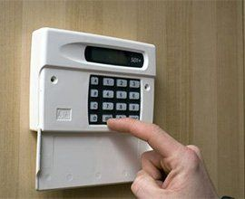 Self Powered intruder alarm system