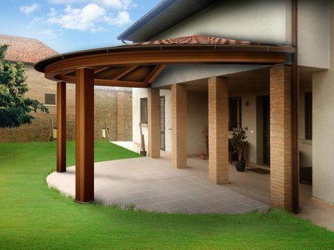 tettoria in legno