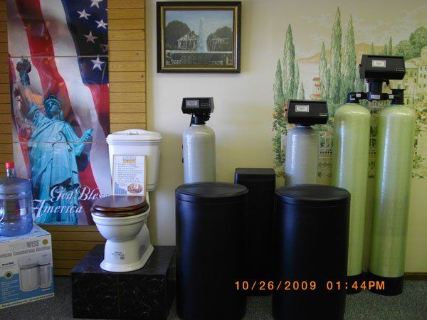 Products | McBride Water Company - Lancaster, Ohio