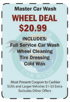 Master car wash car wash auto detailing santa cruz ca display these coupons from your mobile device solutioingenieria Gallery