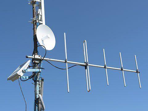 un'antenna delle comunicazioni