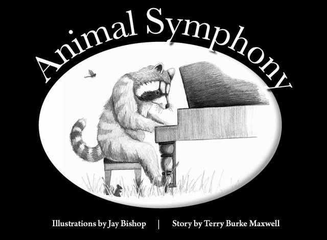 Book Cover Animal Symphony