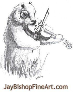 Groundhog violin