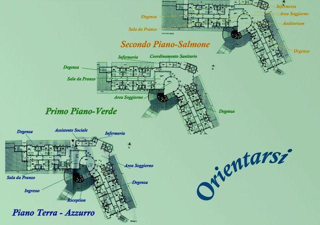 mappa della residenza