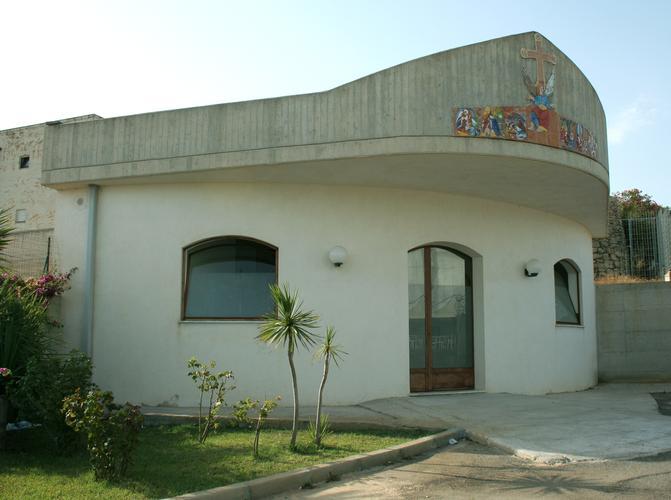 una chiesetta all'interno della residenza