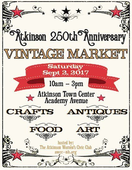 VINTAGE MARKET - 250th Anniversary EVENT