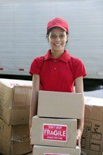 uniformed delivery staff