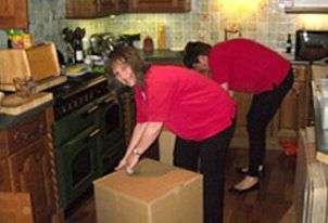 packing service by women