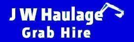 J W Haulage Grab Hire Logo