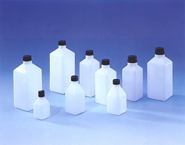 Square H.D. Polythene Bottle sizes