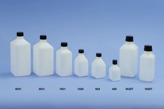 Square H.D. Polythene Bottles