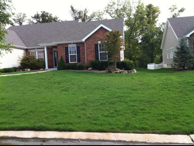 Healthy green lawn from Heritage Lawn and Landscape in St. Charles MO - Lawn Care Services In St Peters, MO