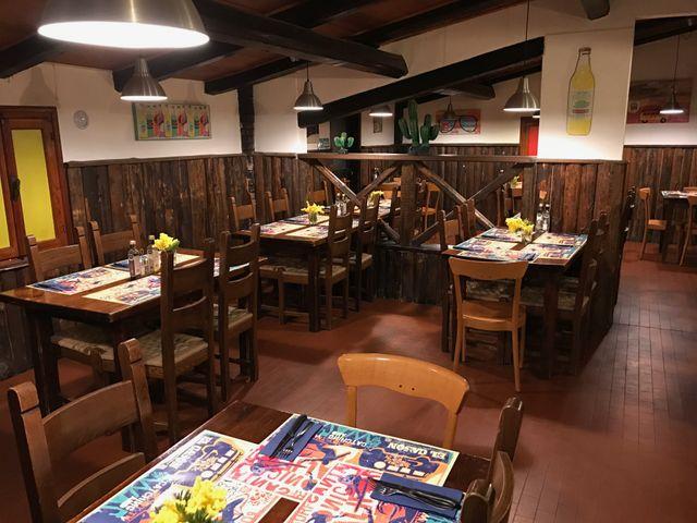 Interno del ristorante El Cason